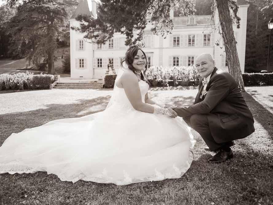 Pose mariés au parc de Ngoulemakong